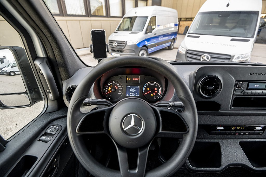 Mercedes-Benz eSprinter  (Foto: Mercedes Benz AG)
