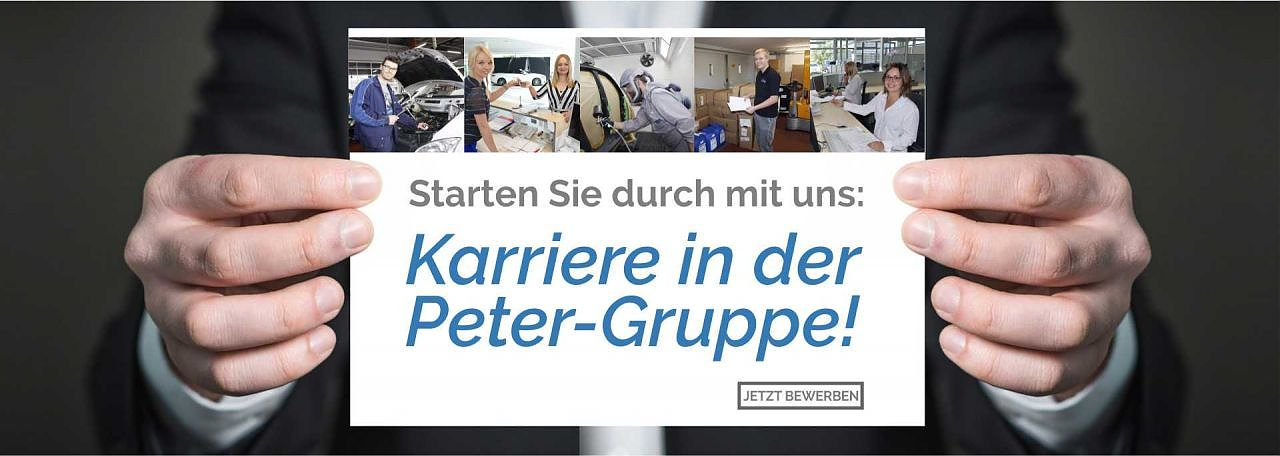 Karriere in der Autohaus-Peter-Gruppe (Foto: Autohaus Peter GmbH)