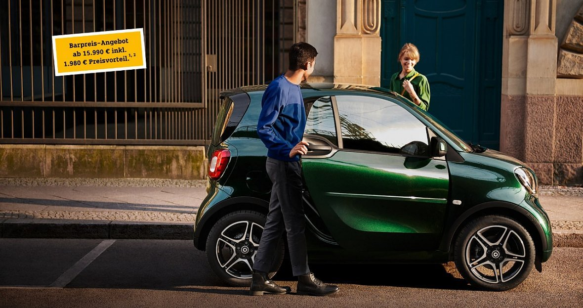 smart fortwo edition ready to share. (Foto:  )
