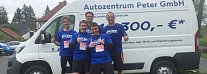 Peter-Team vom Peugeot-Autozentrum (privat)
