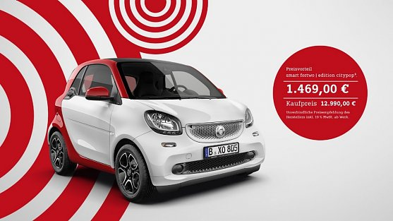 smart fortwo | edition citypop. (Foto:  )
