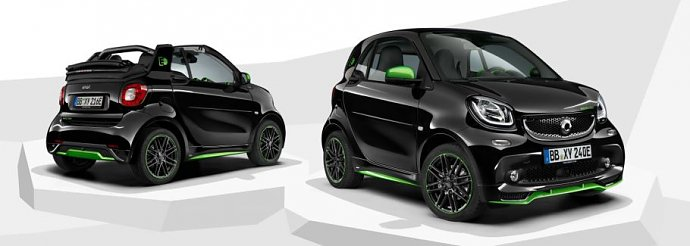 smart fortwo edition greenflash