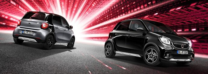 » smart forfour edition crosstown