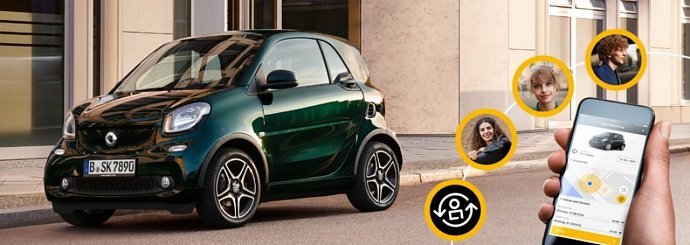 smart fortwo edition ready to share.