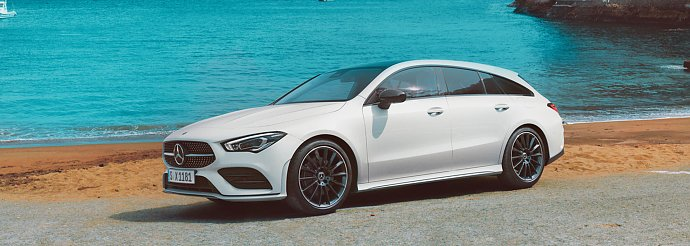 Mercedes Benz CLA Shooting Brake 2019