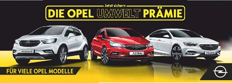 Umweltprämie (Opel Automobile GmbH)