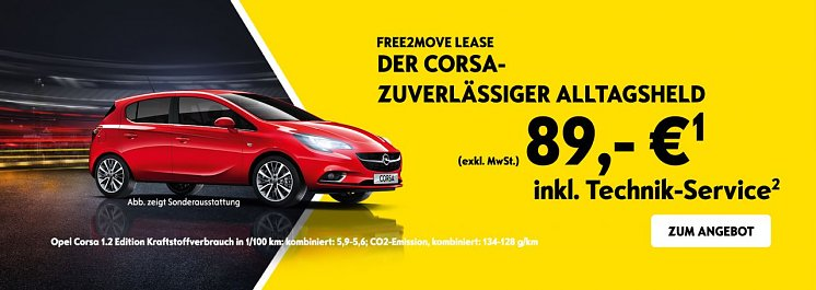Elternelement:Der Opel Corsa  ( Peter-Juni-Aktion - Leasingangebot für Pflegedienste )