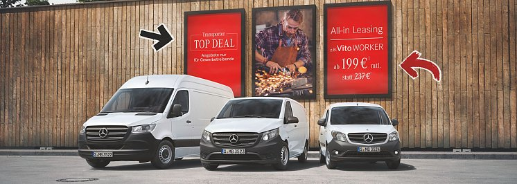 Transporter Top Deal All-in Leasing  (Mercedes-Benz AG)