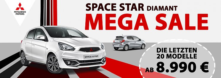 Space Star Diamant Mega Sale (Autohaus Peter GmbH/Mitsubishi MOTORS)