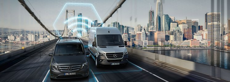 Mercedes PRO connect. (Mercedes-Benz AG)